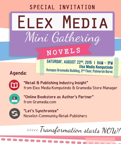 undangan gathering novel EMK